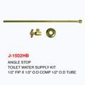 ANGLE STOP TOILET WATER SUPPLY KIT